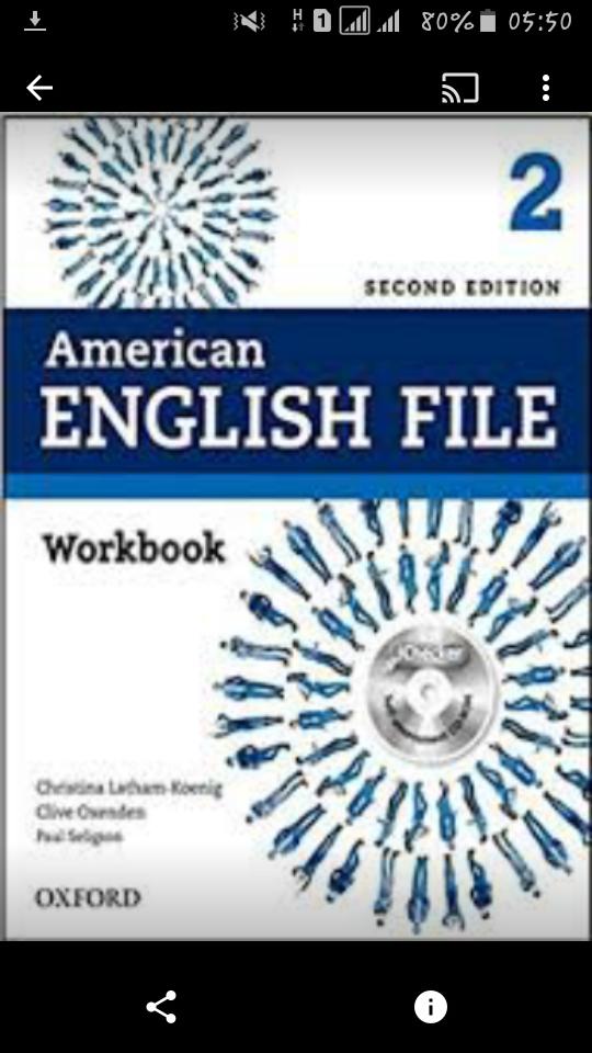 حل کامل درس به درس تمرینات کتاب کار امریکن انگلیش فایل ۲ ویرایش دوم