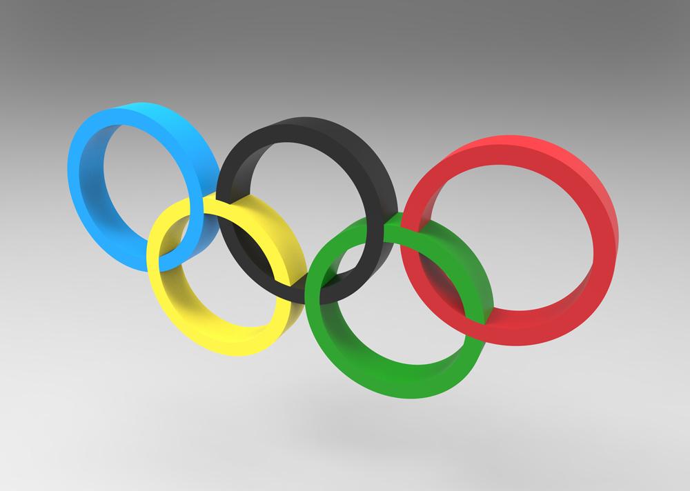 تصویر با کیفیت استوک از لوگو المپیک