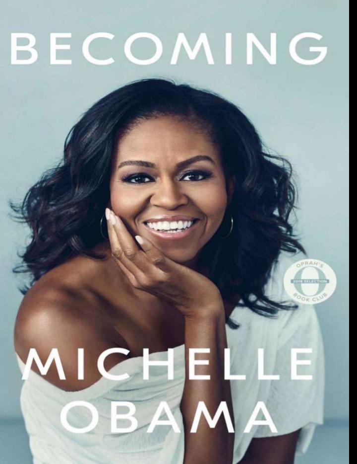 """دانلود کتاب """"شدن"""" از میشل اوباما (نسخه اصلی)"""