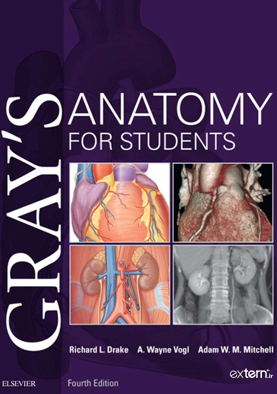دانلود کتاب آناتومی گری برای دانشجویان 2020 ویرایش 4