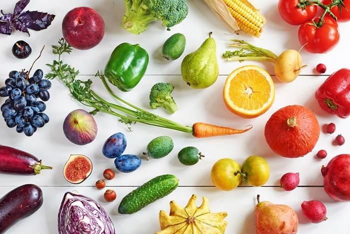 جدول ارزش غذایی در 65 نوع میوه و سبزی و...