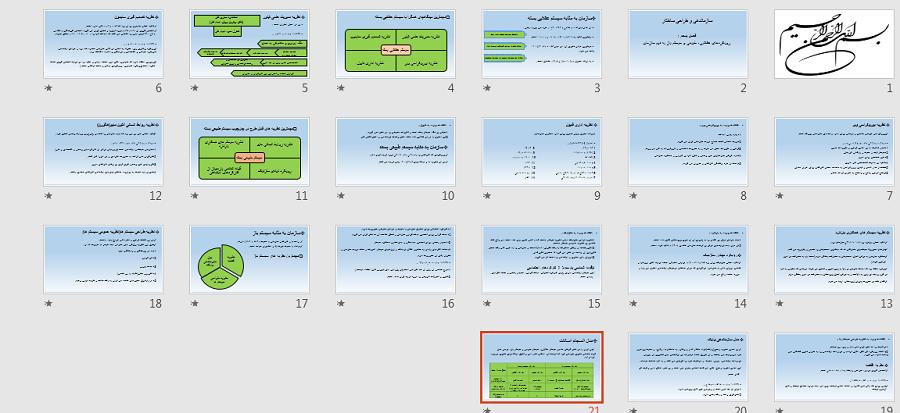 دانلود پاورپوینت فصل پنجم کتاب سازماندهی و طراحی ساختار علیاصغر پورعزت