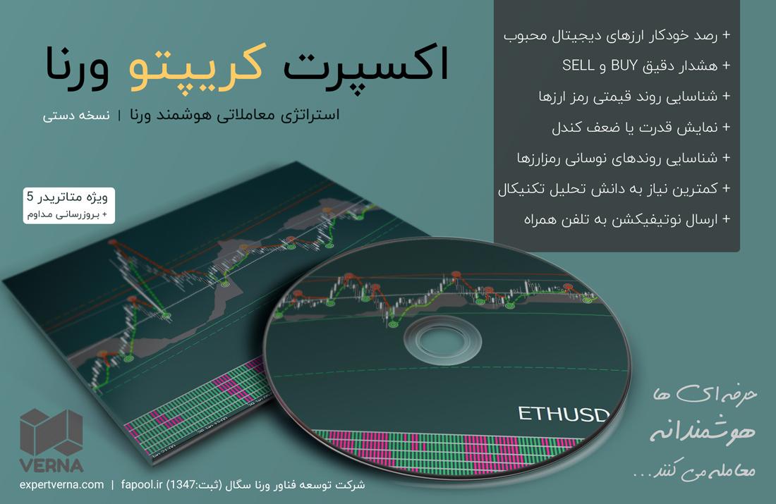 اکسپرت کریپتو ورنا   استراتژی معاملاتی ارزهای دیجیتال